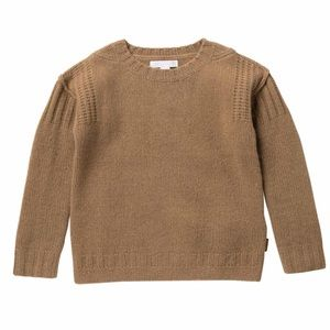 NWT $265 Burberry camel hair sweater 8Y